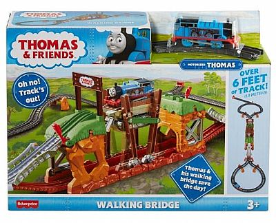Fisher-Price Thomas And Friends Walking Bridge Motorized Train Set Κινητή Γέφυρα GHK84