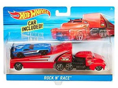 Hot Wheels Σούπερ Νταλίκα Transporter Truck Rumble Road BDW51