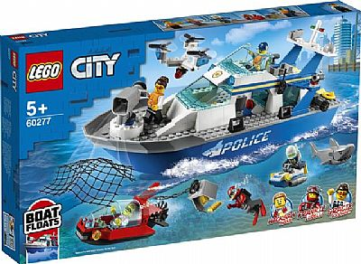 Lego City Police: Περιπολικό Σκάφος Της Αστυνομίας (60277)
